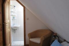 Toiletten, oben