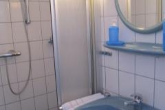 Flieder, duschen